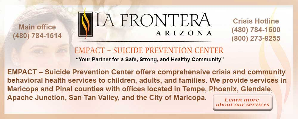 La Frontera Empact Empact Suicide Prevention Center